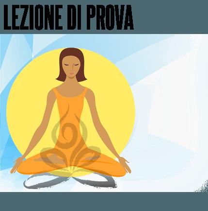 Lezione di prova di Yoga a Roma